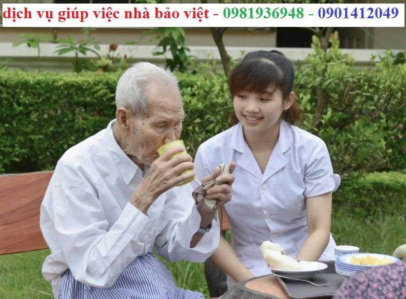 giá dịch vụ chăm sóc người già tại nhà